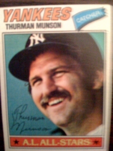 My Thurman Munson card